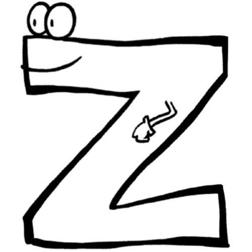 la-letra-Z-para Pintar