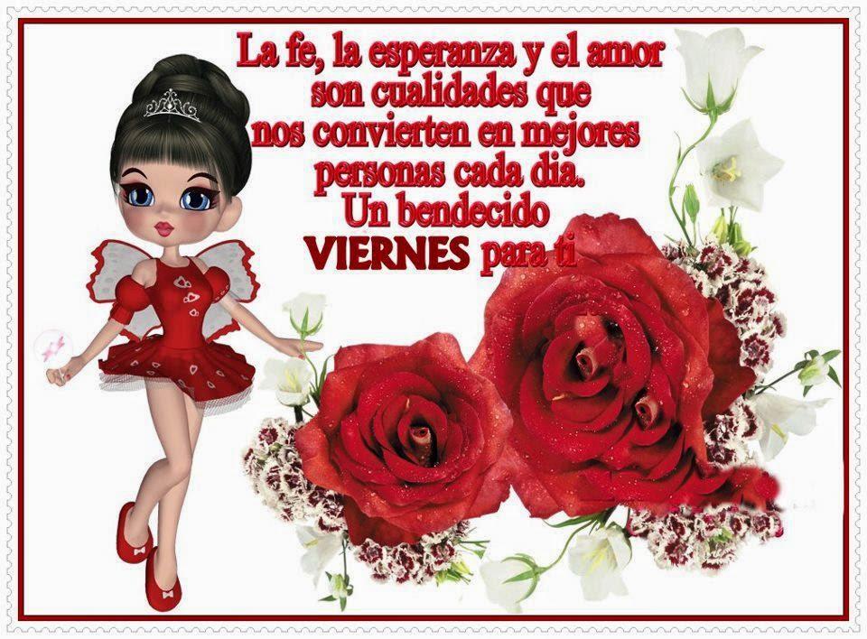 Feliz Viernes rosas
