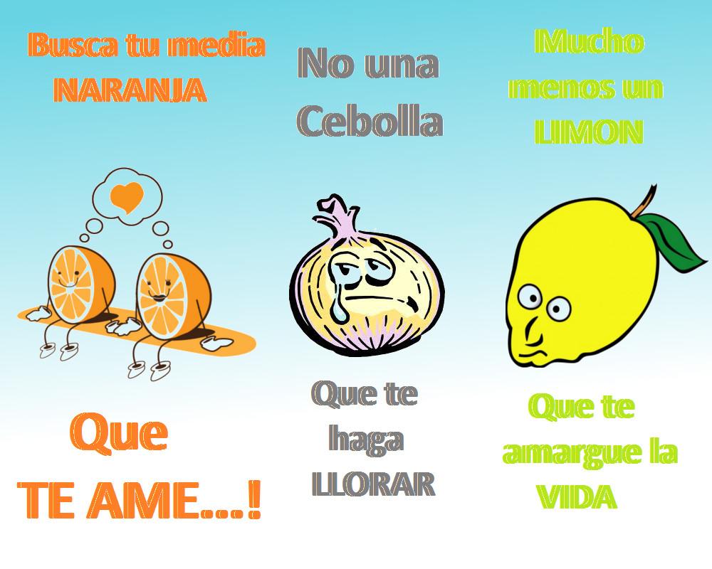 Media naranja amor