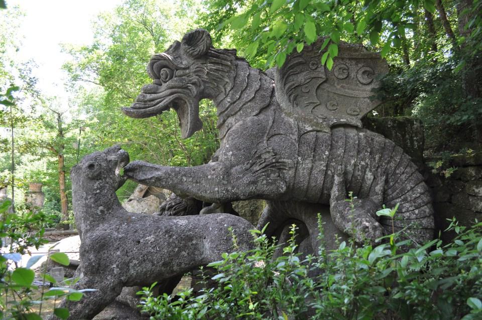 parque de los moustros Italia