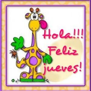 Hola Feliz Jueves