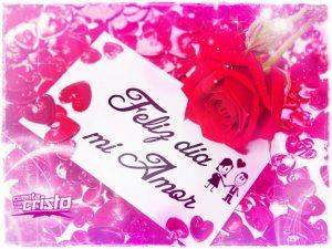 Feliz día mi amor